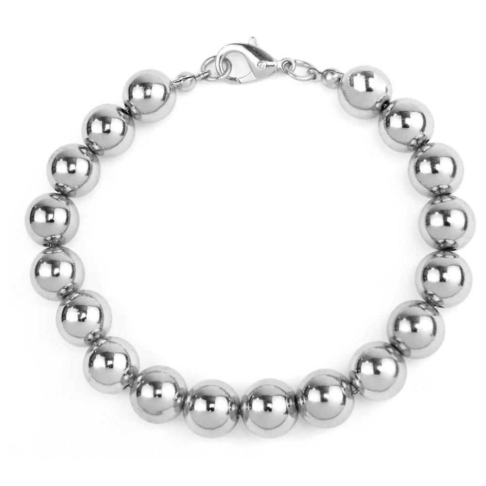 Beaded Bracelet - Silver, Womens