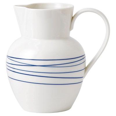 Royal Doulton® Pacific Porcelain 32oz Pitcher White Lines