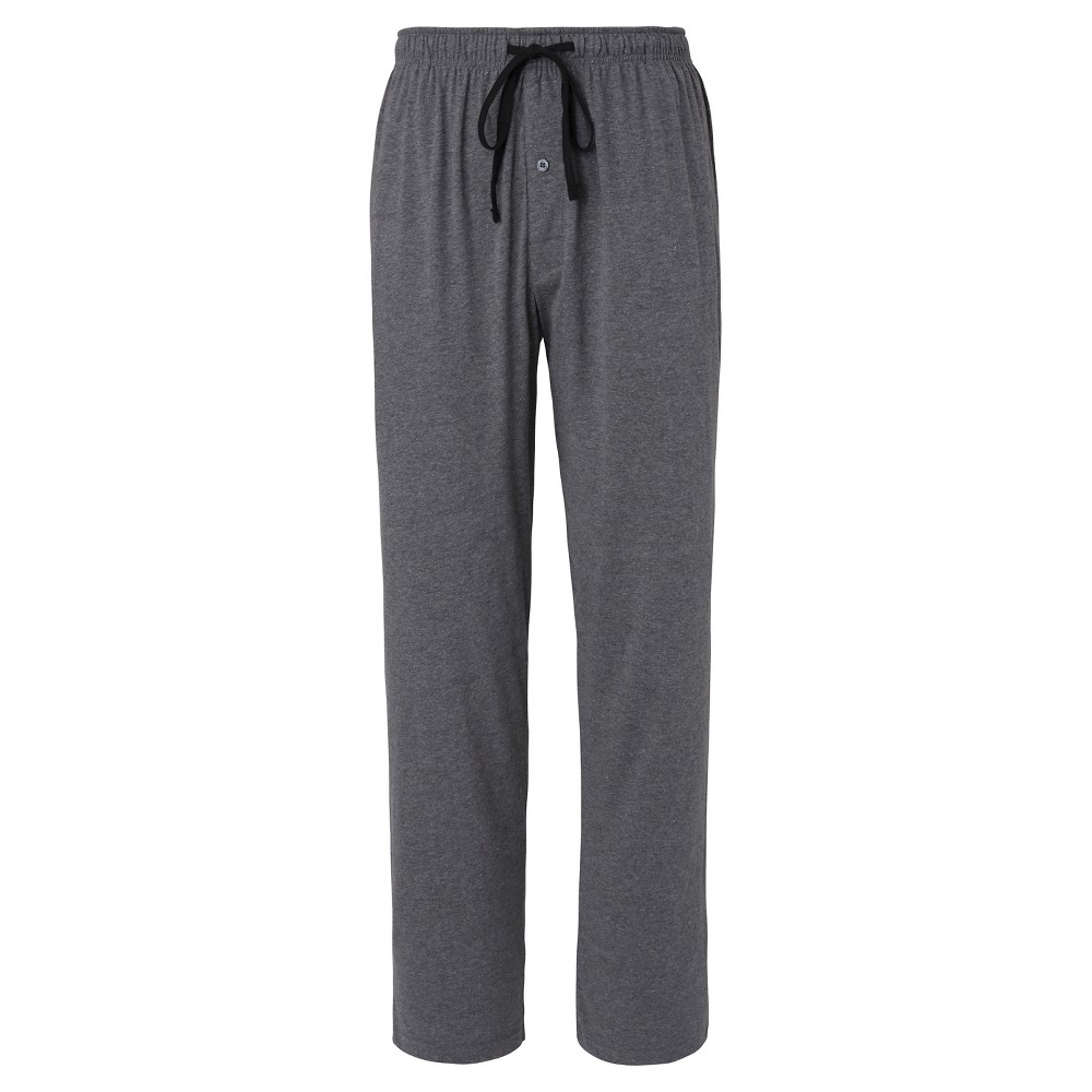Mens Hanes Premium Knit Sleep Pants - Heather Gray XL