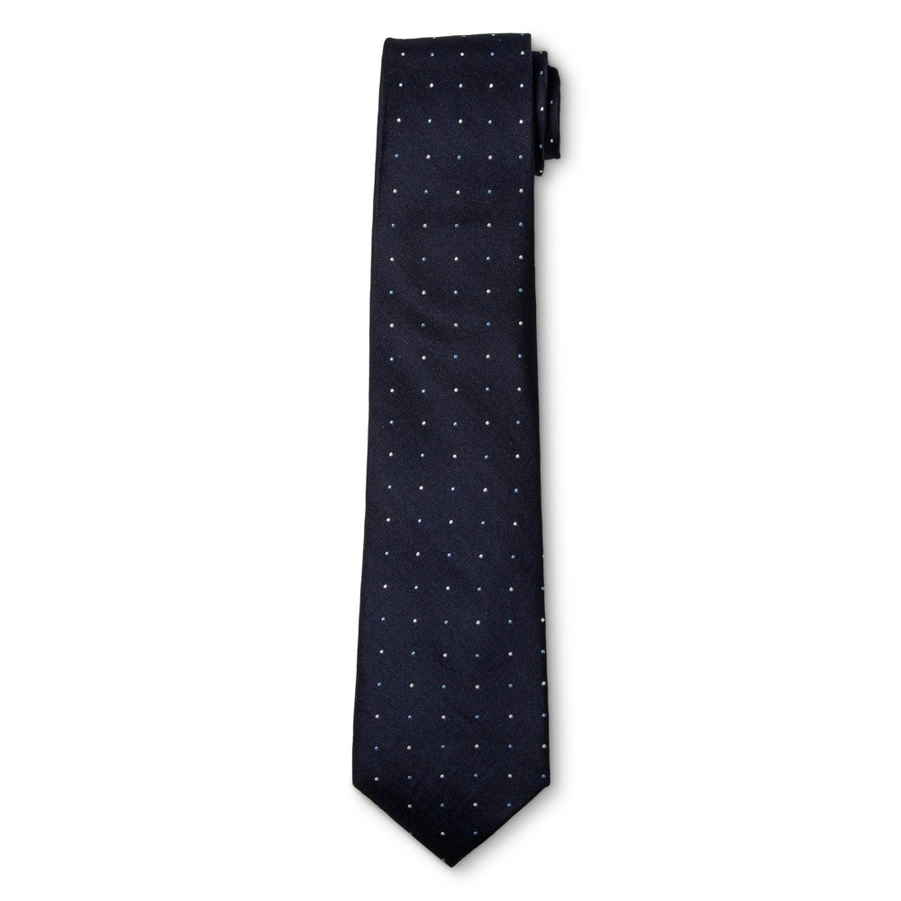 Mens Multi Colored Dot Necktie - Merona Navy, Navy Confetti
