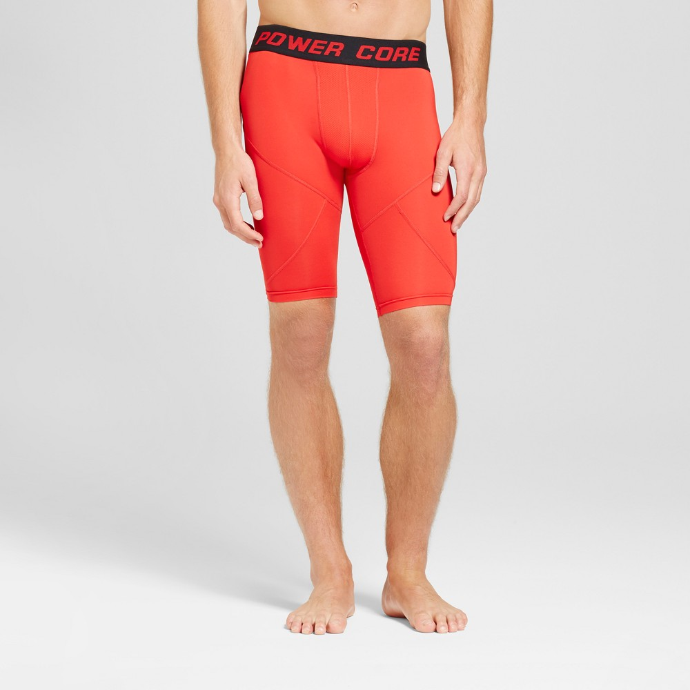 Men's 11 Compression Shorts - C9 Champion - Scarlet (Red) S