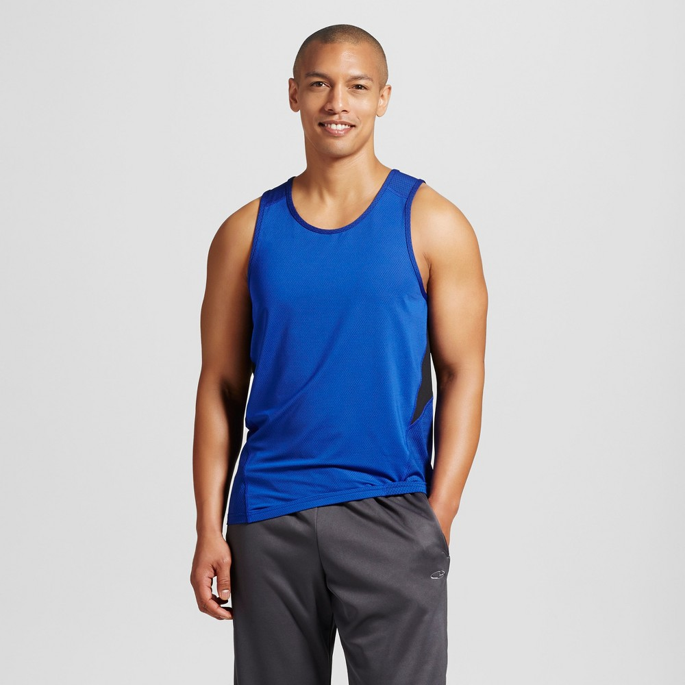 Mens Speed Knit Tank - C9 Champion Bright Blue M