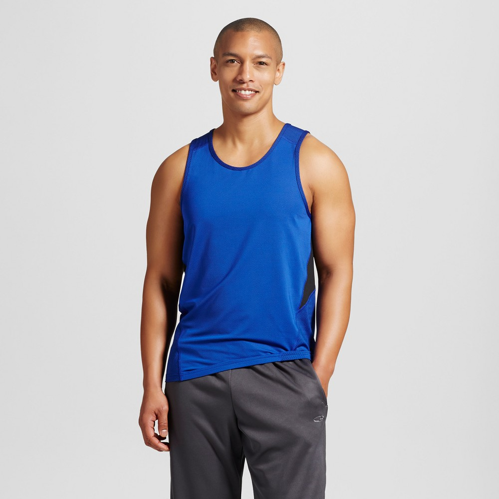 Men's Speed Knit Tank - C9 Champion Bright Blue XL