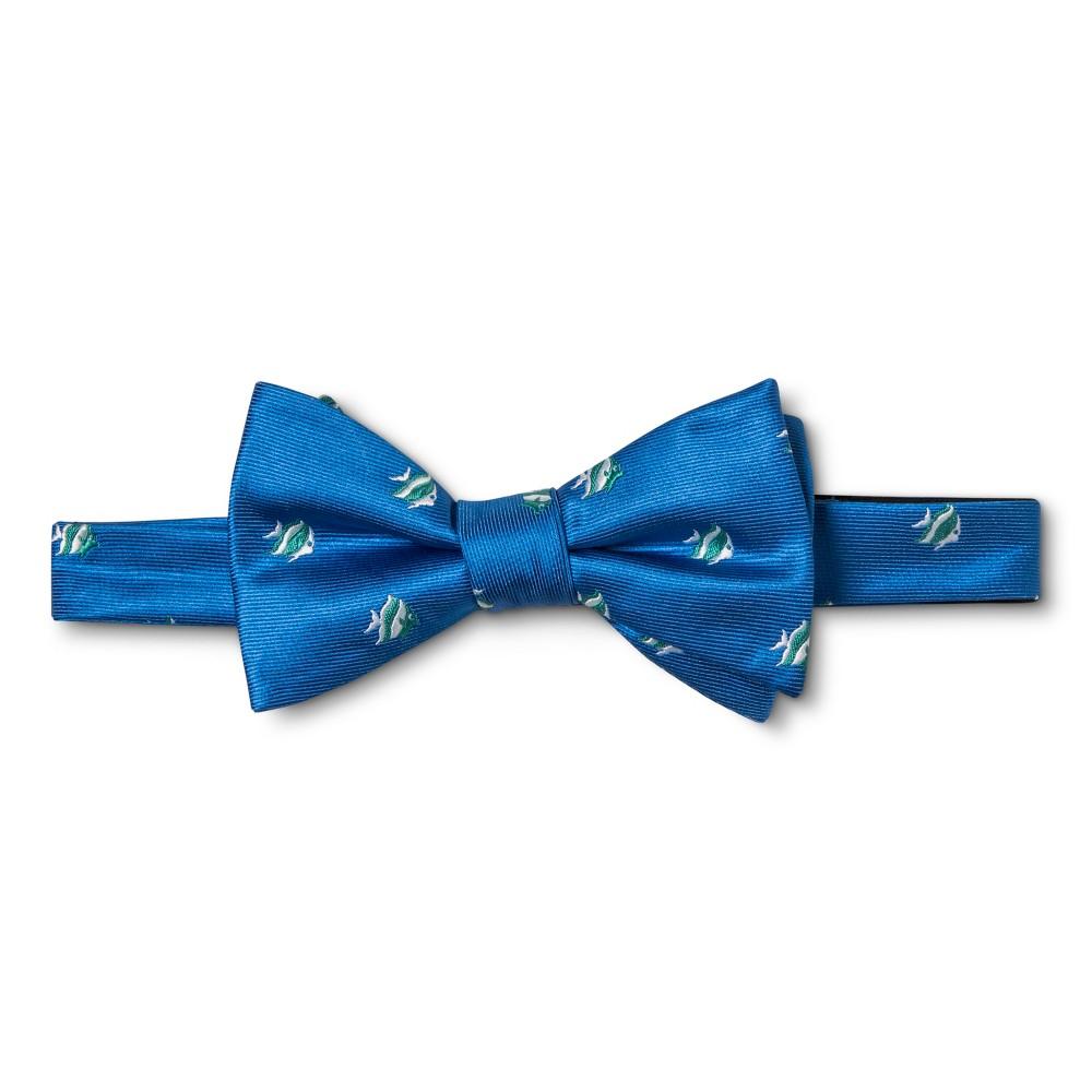 Mens Fish Bow Tie - Merona Blue, Aquarium Blue