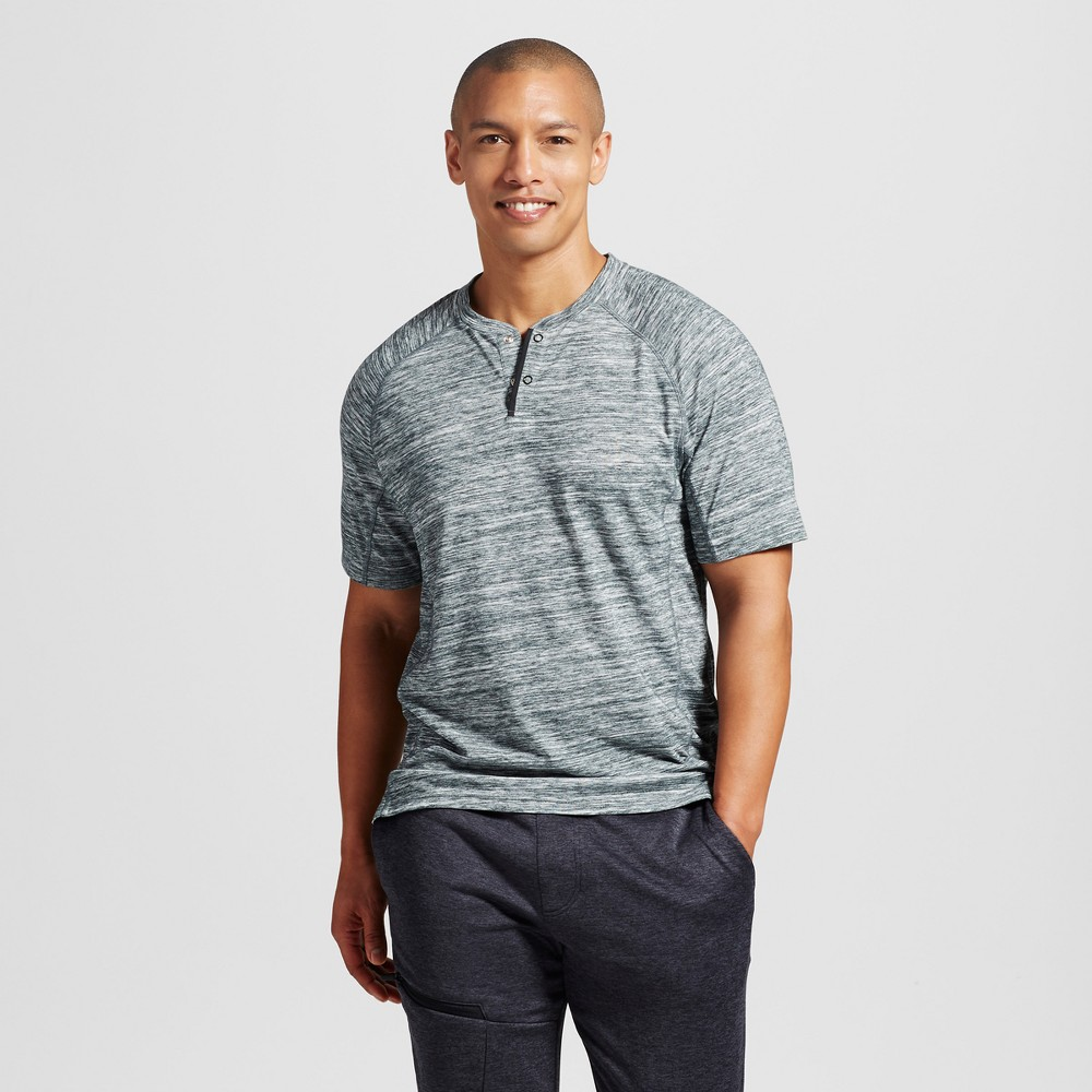 Mens Henley T-Shirt - C9 Champion - Forest Grove XL
