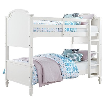 vivienne kids bunk bed twin over twin dorel living
