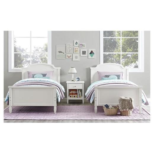 Vivienne Kids Bunk Bed Twin over Twin Dorel Living Tar