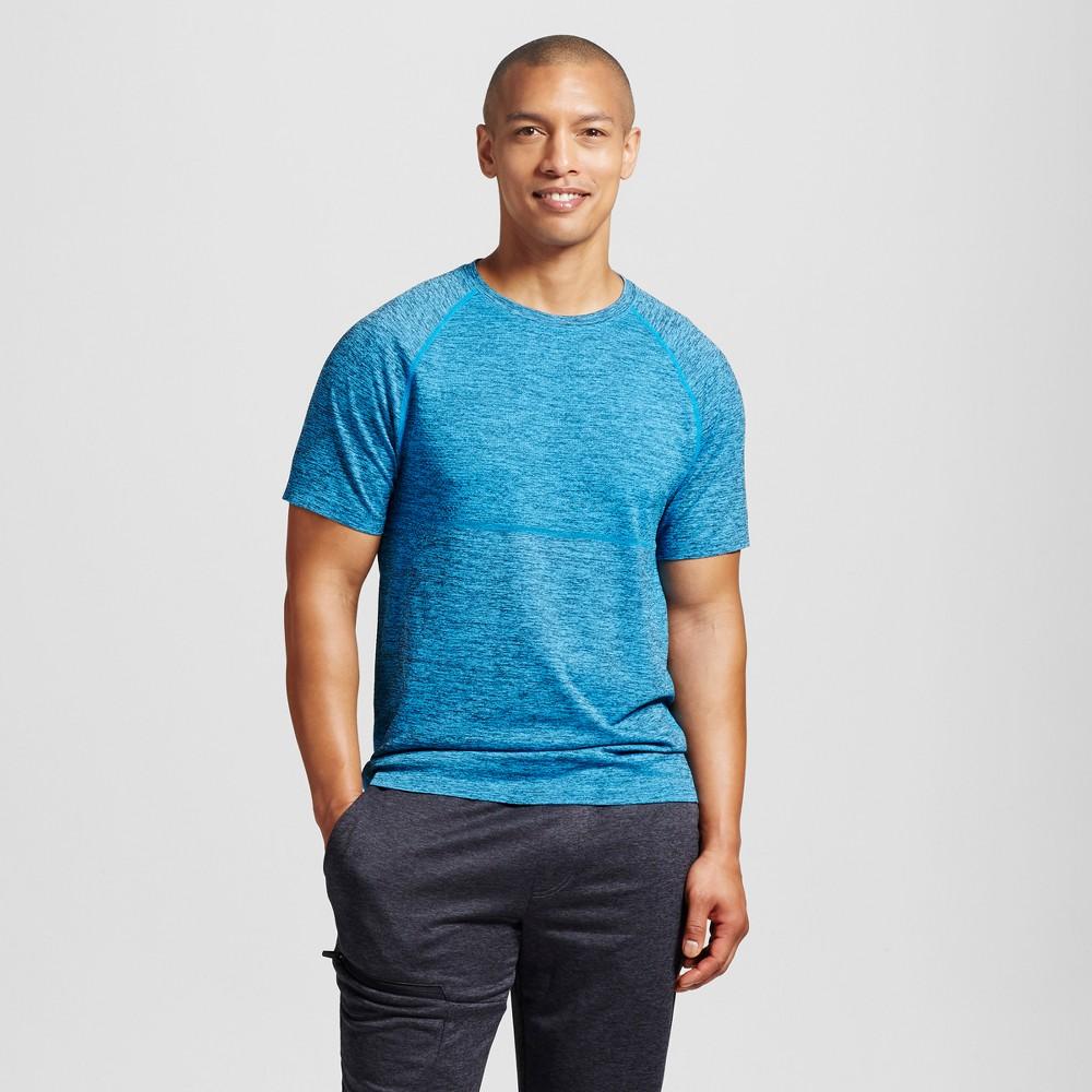 Mens Seamless Run T-Shirt - C9 Champion Sky Blue S