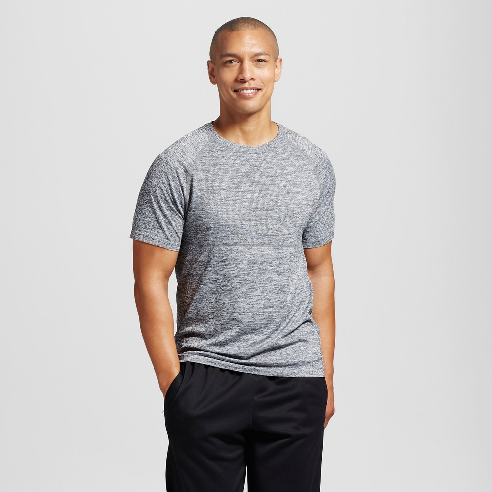 Mens Seamless Run T-Shirt - C9 Champion Concrete L