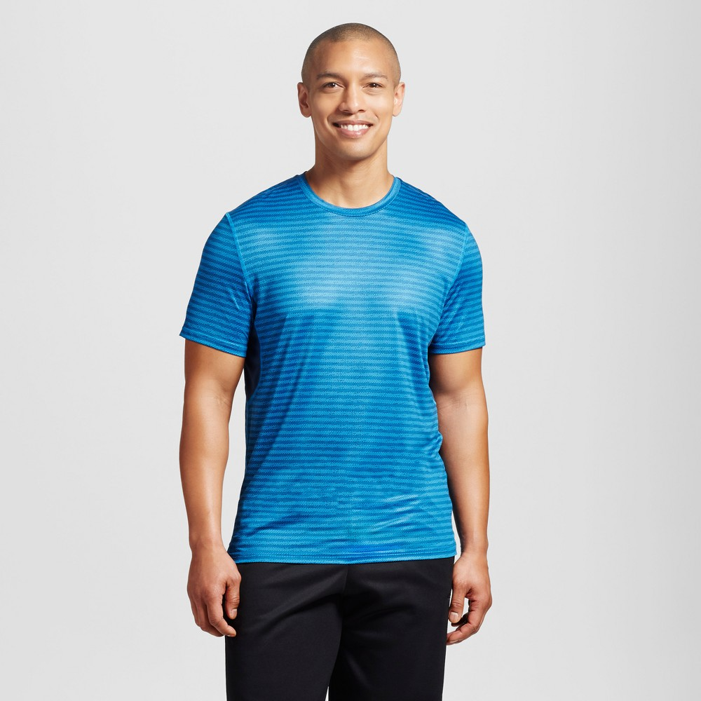 Mens Graphic Run T-Shirt - C9 Champion Sky Blue XL