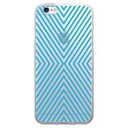 iPhone 7/6s/6 OTM Prints Clear Phone Case Striped Black - OTM Essentials®