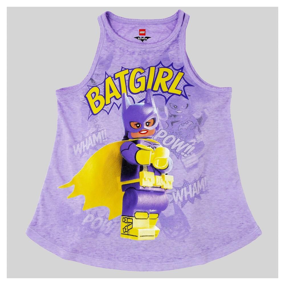 Plus Size Girls The Lego Batman Movie Tank Top - Purple XL Plus