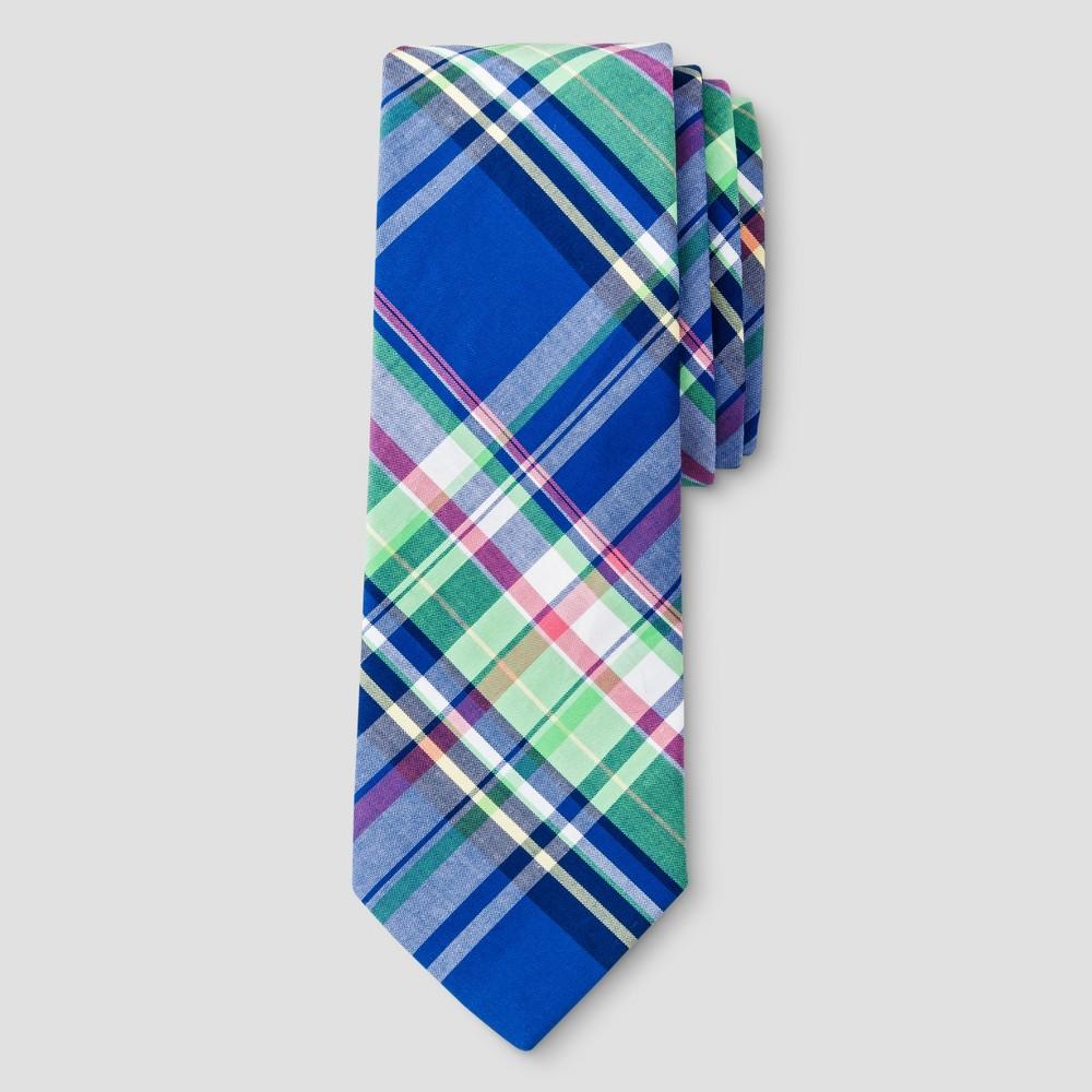 City of London Boys Bow Tie Plaid - Navy (Blue)