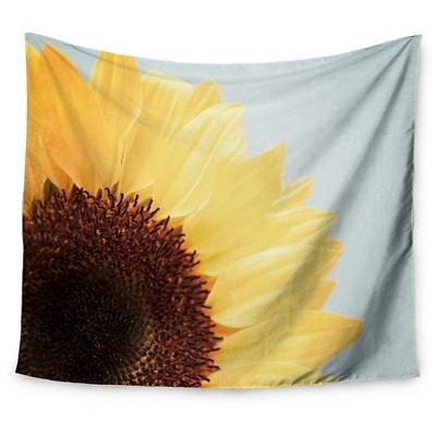 Sunflower Susannah Tucker Sunshine Wall Tapestry (51 x60 )- Kess InHouse