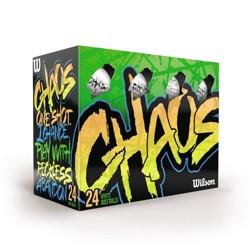 Wilson® Chaos Golf Balls 24pk - White