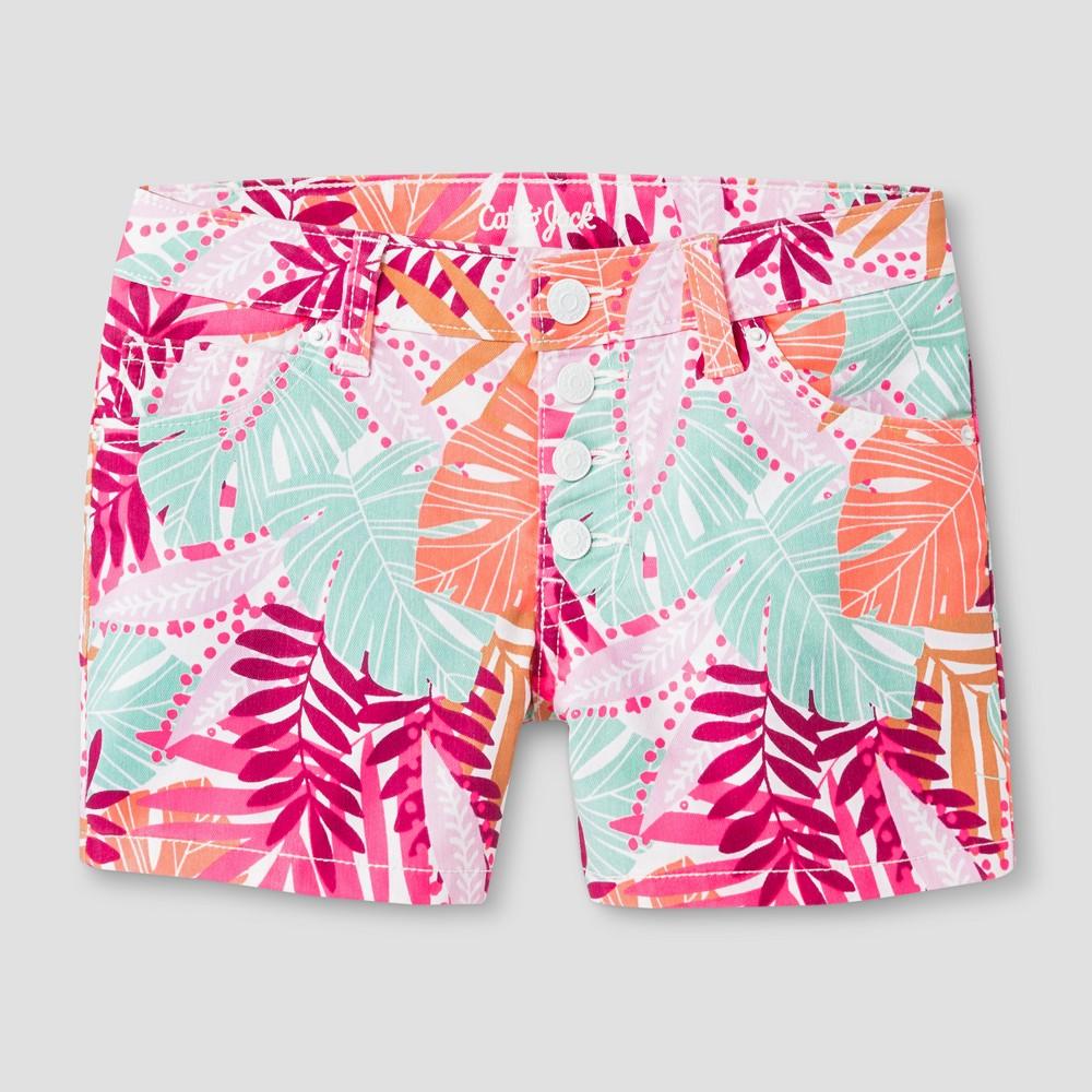 Plus Size Girls Jean Shorts - Cat & Jack White L Plus