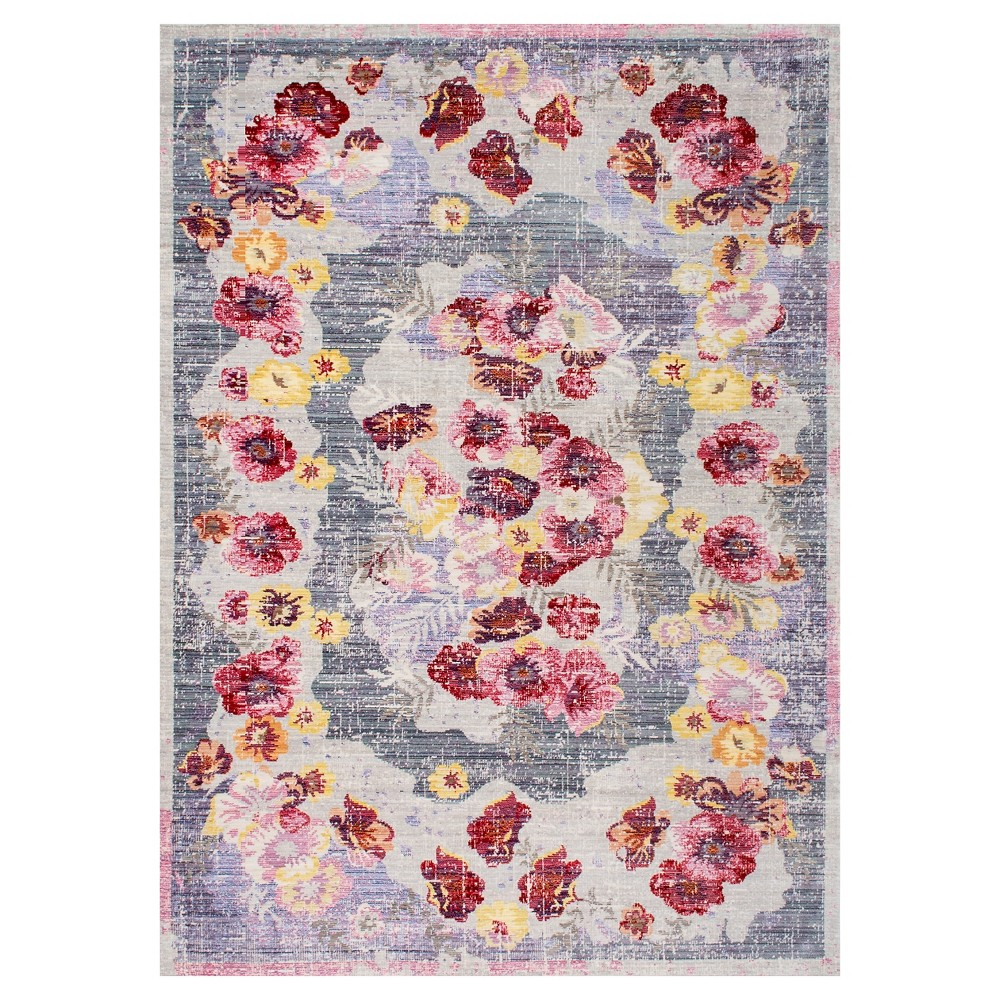 """Red Solid Loomed Area Rug – (7'10″x10'10"""") – nuLOOM"""