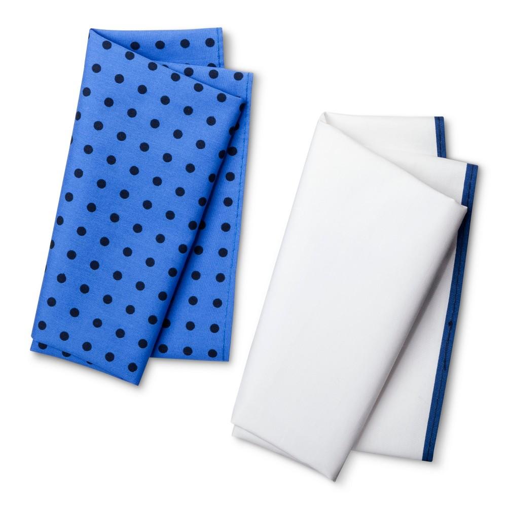 Men's Pocket Square Set - Merona Navy/Blue