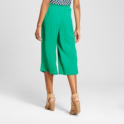 Women's Smock-Waist Pant - Xhilaration (Juniors') - Green XL
