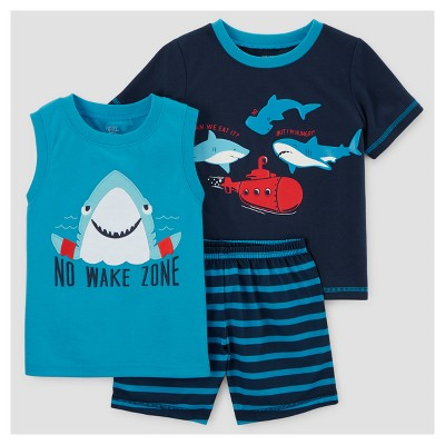 Toddler Boys' Pajama Set - Just One You™ Made by Carter's® Blue 12M