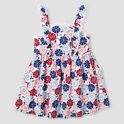 Toddler Girls' A Line Dress Genuine Kids™ from OshKosh® White 3T