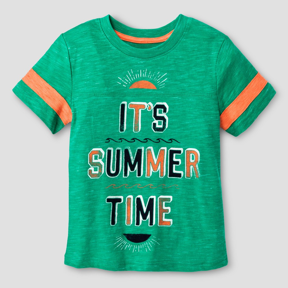 Toddler Boys Graphic T-Shirt Cat & Jack Pleasant Green 5T