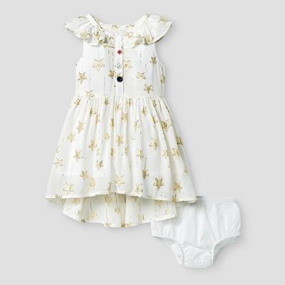 Toddler Girls' A Line Dress Genuine Kids™ from OshKosh® Almond Cream 18M