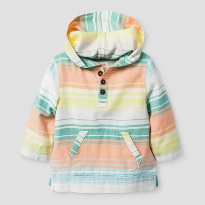 Toddler Boys' Pullover Cat & Jack™ Multi Stripe 18M