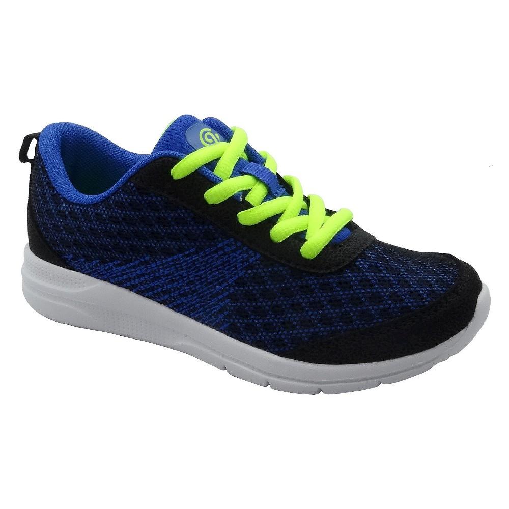 Boys Limit Performance Athletic Shoes - C9 Champion - Black/Blue 4