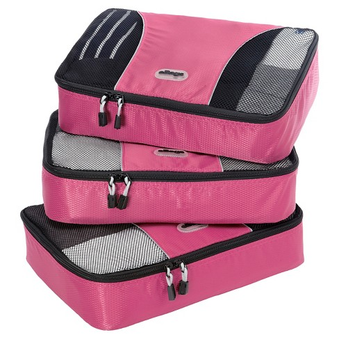 eBags Medium Packing Cubes 3pc Set - Peony - image 1 of 5