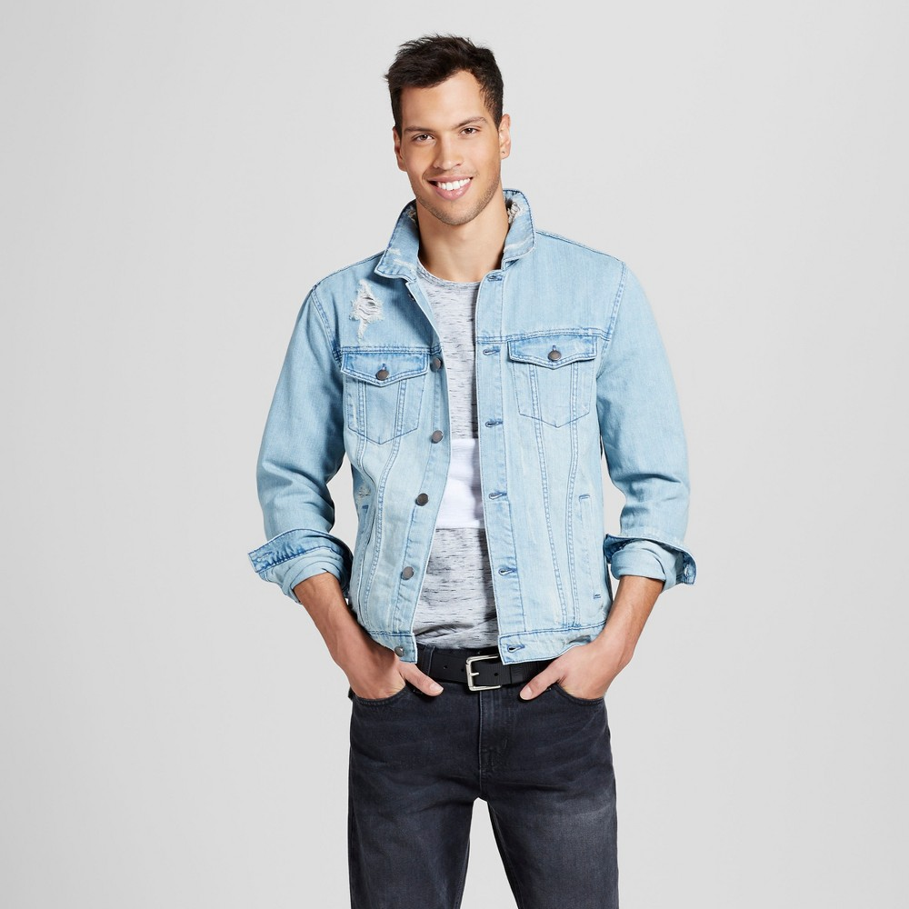 Mens Jean Jacket Denim - Jackson Blue M