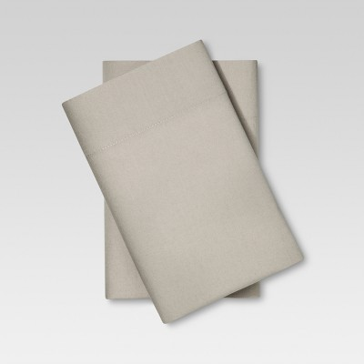 Vintage Wash Pillowcases (Standard)Light Taupe - Threshold™