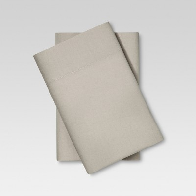 Vintage Wash Pillowcases (King)Light Taupe - Threshold™