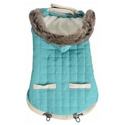 Animal Planet™ Puffy Pet Jacket Dog Costume - Turquoise