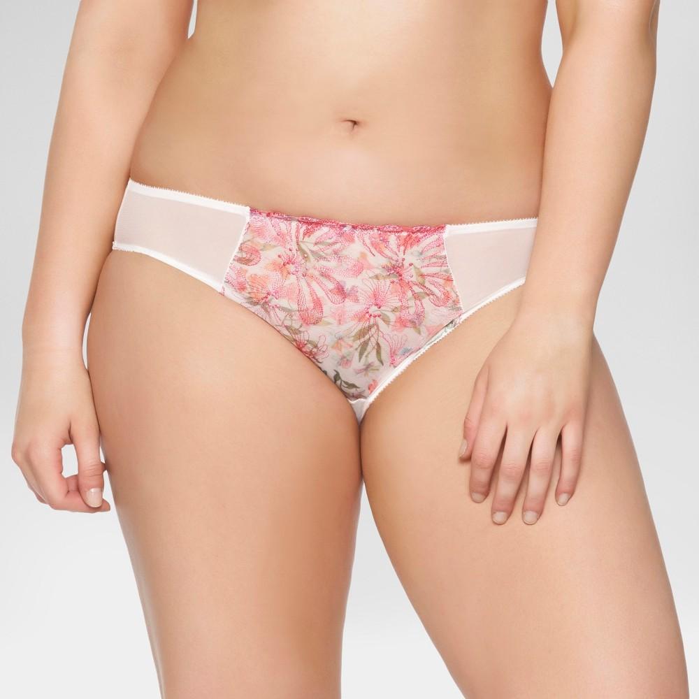 Paramour Womens Ellie Hi-Cut Briefs - Floral M