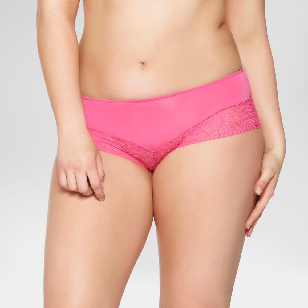 Paramour Womens Carolina Hipster - Pink Flambe L
