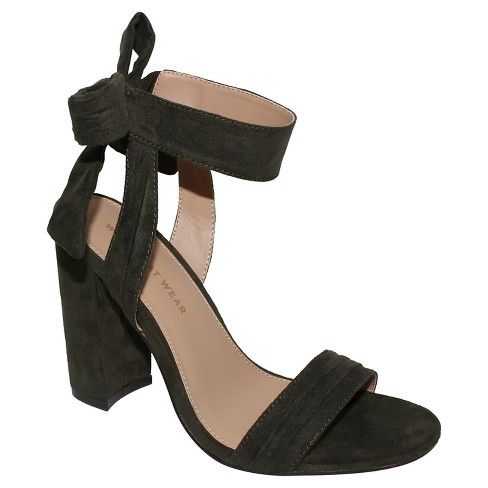 Women's Michaela Block Heel Ankle Strap Sandals - Who What Wear™ - image 1 of 4
