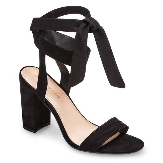 b4c68ff4a2aa Women s Michaela Block Heel Quarter Strap Sandals Who What Wear ...