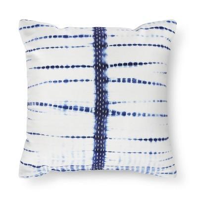 Blue Textured Tie-Dye Pillow - Xhilaration™