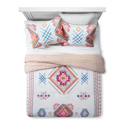 Cream Kilim Pattern Comforter Set (Full/Queen)- Xhilaration™