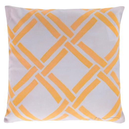 Target Coastal Throw Pillows : Sunflower Rimini Crosshatch Throw Pillow 18