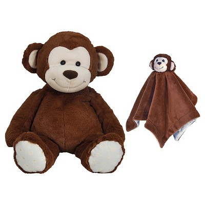 Cloud B Monkey Plush Doll - Brown