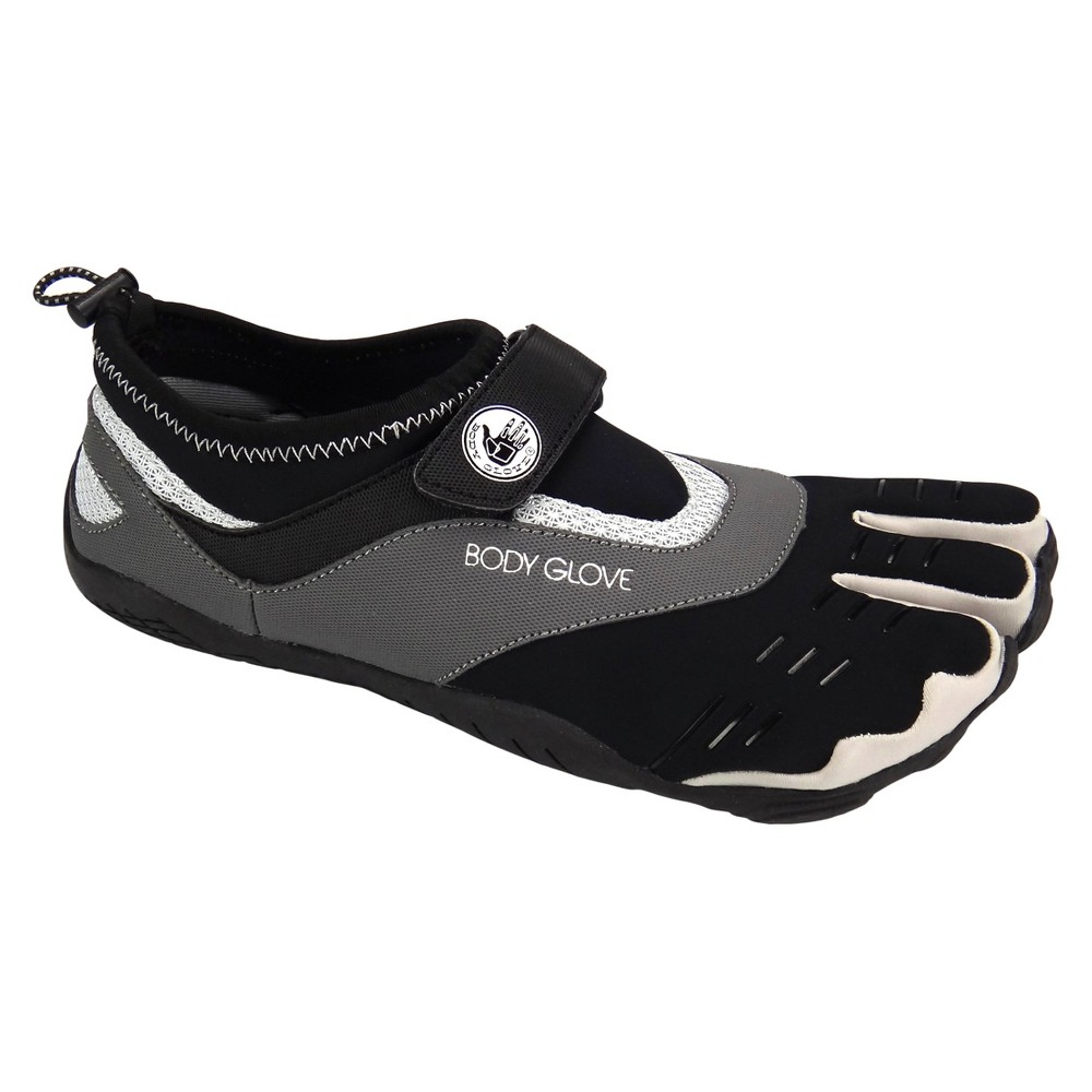 Mens Body Glove 3T Max Water Shoes - Black/Gray 8, Black Gray