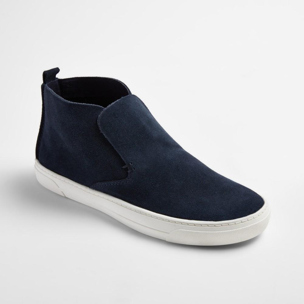 Womens dv Roselyn Suede High Top Sneakers - Navy (Blue) 9