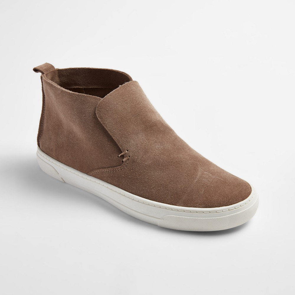 Womens dv Roselyn Suede High Top Sneakers - Taupe 9, Taupe Brown