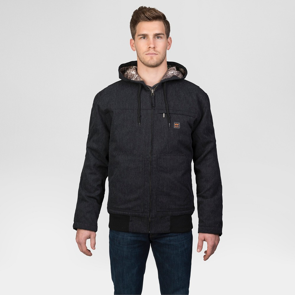 Walls Workwear Muscle Back Hooded Jacket With Kevlar Black Xxl, Mens