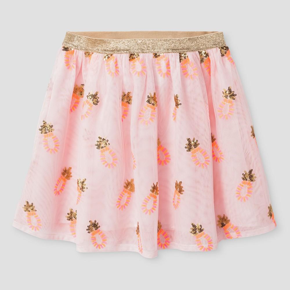 Girls A Line Skirt Cat & Jack - Pink, Size: Xxl