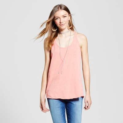 b76c31666de Womens Racerback Tank Top – Mossimo Supply Co.™ Coral XL – Target ...