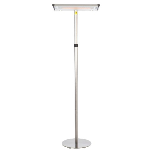 Morrison Dual Head Floor Standing Halogen Patio Heater - Fire Sense - image 1 of 9