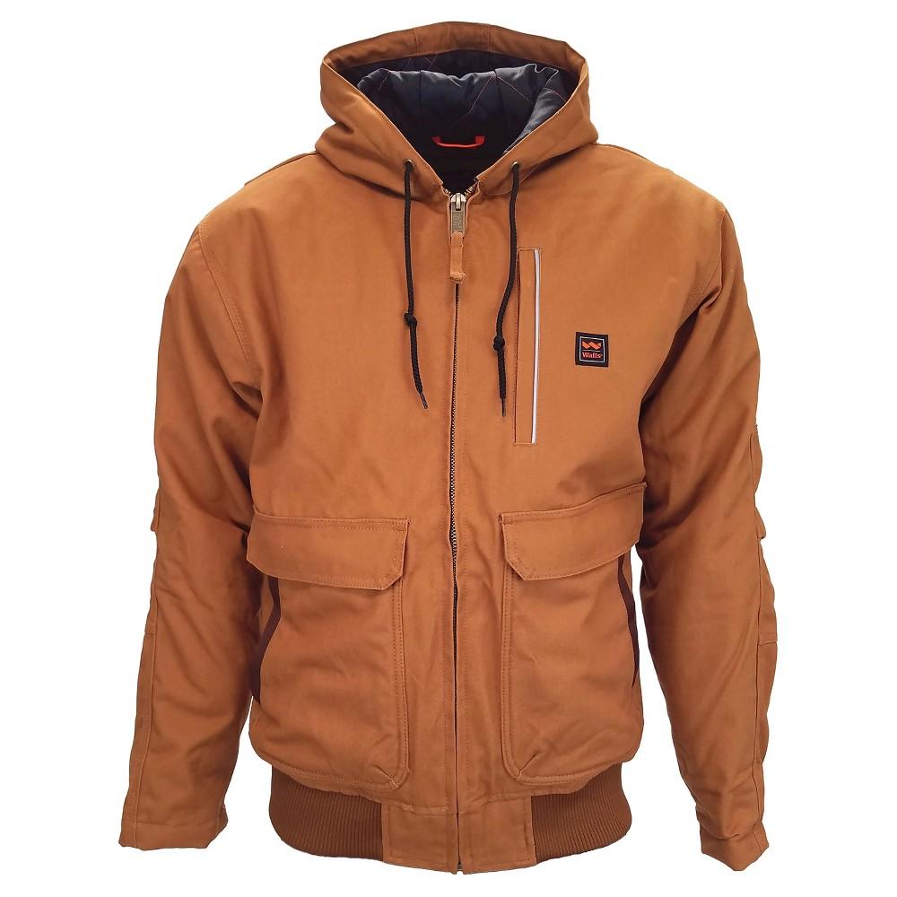 Walls Blizzard-Pruf Lancaster Hooded Coat Pecan L, Mens